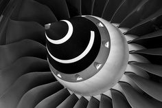 Airbus A380 engine blades  .@Jorge Martinez Cavalcante (JORGENCA)