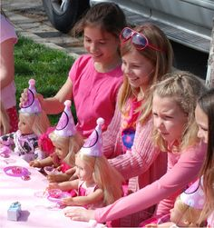 """Photo 19 of 39: American Girl / Birthday """"American Girl doll party for 8 year olds"""" 