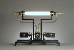 The Machine Light Series of Frank Buchwald model no.06  steampunk industrial interior design decor lighting