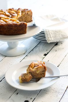 Apple Butter Upside Down Cake