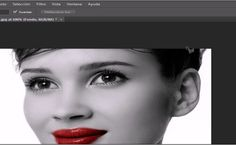 Photoshop: Cambiar el color de los labios en una foto