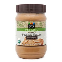 Whole Foods 365 Organic Unsweetened Creamy Peanut Butter is a good buy if you tolerate peanuts. Peanut Butter Brands, Healthy Peanut Butter, Creamy Peanut Butter, Peanut Butter Cups, Whole Foods 365, Whole Food Recipes, Cooking Recipes, Healthy Groceries, Organic Recipes