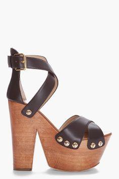 Giuseppi Zanotti, High Platform Clog Heels