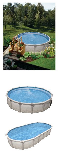 "The Mission 54"" Hybrid pool from Celebration pools. Find it here: http://www.abovegroundpoolbuilder.com"