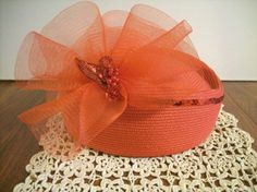 Vintage Pill Box Hat. $12.50, via Etsy.