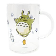宮崎駿-龍貓Totoro_龍貓Totoro-透明玻璃杯-站栗子出發