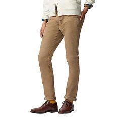 MEN Slim Fit Corduroy Jeans