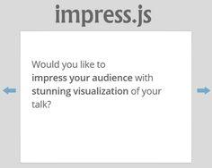 impress.js – Presentation Framework Based On CSS3