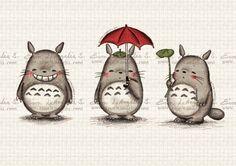 My Totoro by evonleangelis
