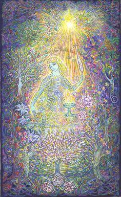 L'ange de l'aube éblouissante - l'ange liberté