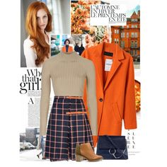 How To Wear Orange beauty Outfit Idea 2017 - Fashion Trends Ready To Wear For Plus Size, Curvy Women Over 20, 30, 40, 50