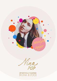 Con ocasión de su 10º aniversario, Nina te invita a su Pop Party. Crea tu foto pop.