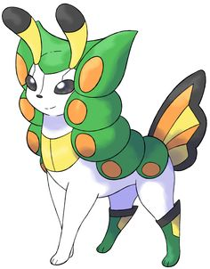 Papileon, Chrysalis Fakemon by PavameAgarestia on DeviantArt