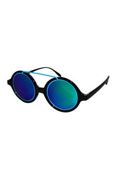**Cloud Blue Sunglasses by Jeepers Peepers - New In This Week - New In Blue Sunglasses, Sunglasses Outlet, Cheap Sunglasses, Oakley Sunglasses, Mirrored Sunglasses, Model Street Style, Street Style Women, Aintree Races, Fancy Hats