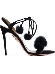 5ce64dea0e73 Shop Aquazzura  Wild Russian  sandals in Nugnes 1920 from the world s best  independent boutiques