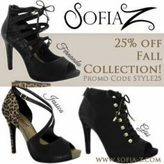 6fe8c49ef70 Sofia Z Shoes! Amazing Quality and Comfort! Save 25% off these three  selection