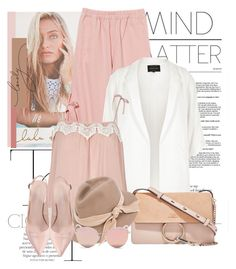"""Mind over Matter"" by fashionqueenhq ❤ liked on Polyvore featuring Lulu DK, Børn, River Island, Chloé, CA4LA, Stephane + Christian, kitchen and vintage"