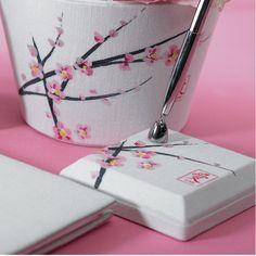 cherry blossom pen set