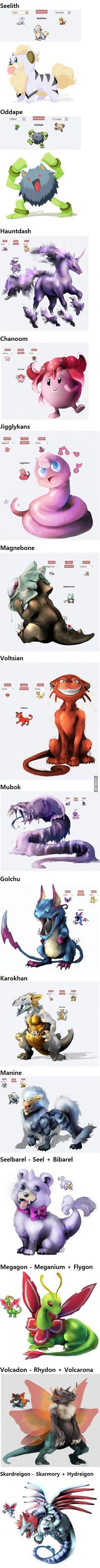 Pokemon Fusions part 10! Enjoy :)
