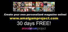 30 days FREE Amalgam Project App.  www.amalgamproject.com