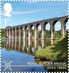 Bridges 1st Stamp (2015) Royal Border Bridge