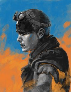 Furiosa (Study), Daniel Landerman on ArtStation at https://www.artstation.com/artwork/furiosa-study