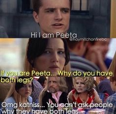Mean Girls + THG  classic | Omg that was unnecessary, Katniss! :/