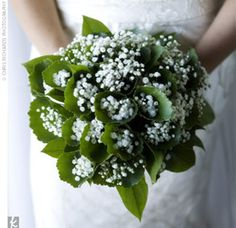 gypsophilia bouquet.  In other words, this is BABY'S BREATH!  WOW! mr