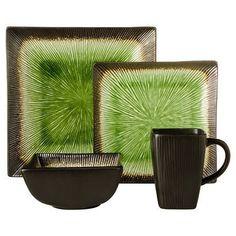 Square Elemental Ocean 16pc Dinnerware Set - Threshold™ | Stoneware dinnerware sets Stoneware dinnerware and Stoneware  sc 1 st  Pinterest & Square Elemental Ocean 16pc Dinnerware Set - Threshold™ | Stoneware ...