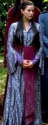 Arwen's Costumes,LOTR