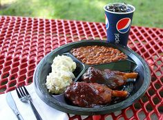 Pork Wings at Barbecue USA in Holiday World