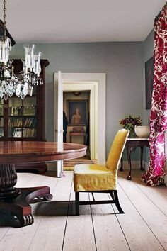 Explore our dining room design ideas on HOUSE - design, food and travel by House & Garden, including the work of antique dealer, furniture designer and decorator Max Rollitt Dining Room Walls, Dining Room Design, Design Kitchen, Furniture Styles, Furniture Design, Furniture Removal, Cheap Furniture, Hampshire, Dining Room Furniture Inspiration