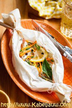 2 recepten om vis in papillot te maken zonder afwas: beproefd klassiek recept of boordevol groenten door Sandra Bekkari: dus lekker aan tafel in 30 minuten. Als we zo gezond willen zijn als een vis…