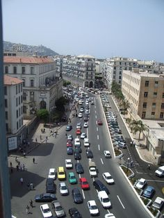Algeria, Algiers - Bab el Oue: Galleryfull. Places Around The World, Around The Worlds, French Buildings, All About Africa, Roman City, Largest Countries, Moorish, Ancient Romans, Blog