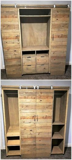 Looking for an awesome gift? Custom handcrafted furniture will wow them! LInwood Media Cabinet with sliding barn doors and adjustable shelves. Raised platform bed with storage drawers. Checkout our specials now through Dec 15.  The Pallet Peddler- Upcycled Furniture