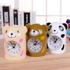 Moderne Cartoon Panda Wecker Electrinic Tabellenanzeige Uhr reloj digital luminoso para Kindspielzeug Geschenk Tabelle room Decor uhr