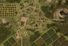 Image result for d&d forest battle map