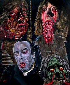 El arte del horror de José Antonio Méndez   Horror art