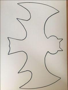 Vorlage DIY Fledermaus, Herbstbasteln, Fensterbild, free download, basteln mit Kindern