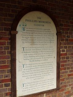 The Jack Phillips Memorial - Titanic - Godalming 2006. Twenty-five year-old John George Phillips - better known as 'Jack' - was the chief wireless operator, and he continued to send distress signals until the ship's power faded and he was plunged to an icy death.