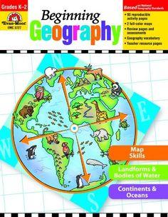 Beginning Geography, Grades K-2 (Beginning Geography (Evan-Moor)) by Evan-Moor,http://www.amazon.com/dp/1608236765/ref=cm_sw_r_pi_dp_zeNHsb0B3TXRN7T5