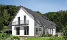 Wintergartenhaus 128 Style At Home, Town Country Haus, Smart Home, Gazebo, Home Goods, Shed, Floor Plans, Exterior, Outdoor Structures