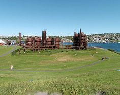 "Gasworks Park on Lake Union. Spent a great afternoon here once, listening to whale's songs. Best friend and I were doing the ""Save the Whales"" walk - early 1970s."