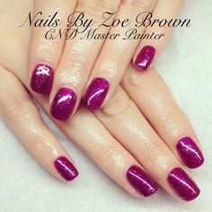 CND shellac tango passion and zillionaire