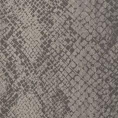 Wallcovering / Wallpaper | Cody Snakeskin in Smoke | Schumacher