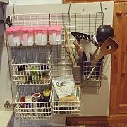Kitchen,100均,DIY,一人暮らし,スパイスラック,調味料ラックに関連する他の写真