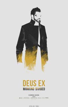 "astral-link: "" ""Deus Ex Minimalist Poster - [ 1 / 2 ] "" [insp.] """