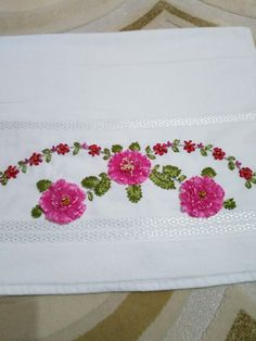 Embroidery, Face Towel, Towels, T Shirts, Needlepoint, Crewel Embroidery, Embroidery Stitches