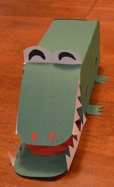 alligator box #alligatorvalentinesbox