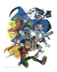 Starfire by potatofarmgirl on DeviantArt Teen Titans Show, Old Teen Titans, Original Teen Titans, Teen Titans Fanart, Beast Boy, Arte Dc Comics, Marvel Comics, Pokemon Cosplay, Dc Heroes